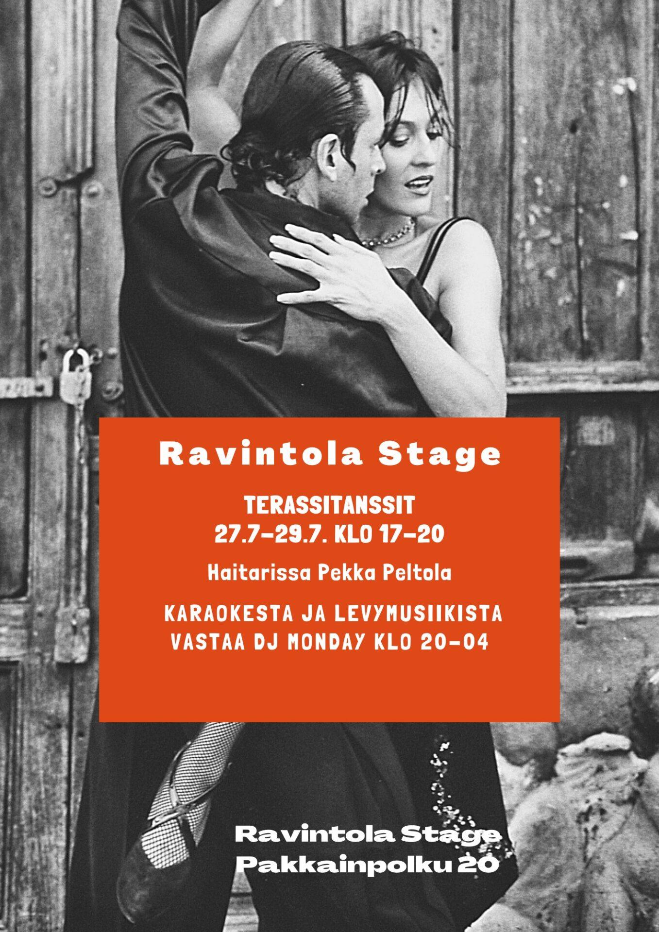 [Alkuperäinen koko] Red Salsa Dance Flyer